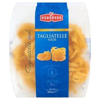 Podravka Smak kuchni śródziemnomorskiej Tagliatelle Nidi Makaron Gniazda wstążki 400 g (1)