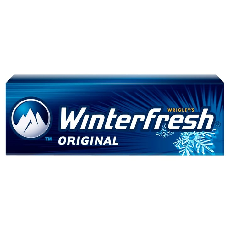 Winterfresh Original Guma do żucia bez cukru 14 g (10 drażetek) (1)