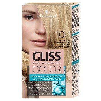 Schwarzkopf Gliss Color Farba do włosów ultra jasny perłowy blond 10-1 (1)