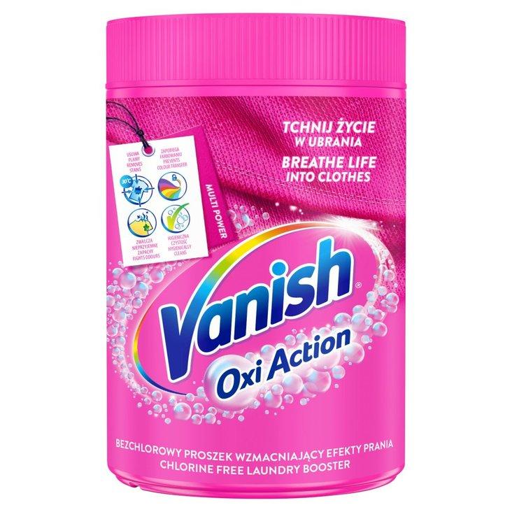 Vanish Oxi Action Odplamiacz do tkanin w proszku 625 g (1)