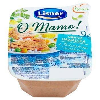 Lisner O Mamo! Sałatka hawajska z tuńczykiem i ananasem 150 g (1)
