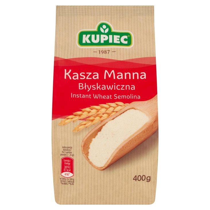 Kupiec Kasza manna błyskawiczna 400 g (1)