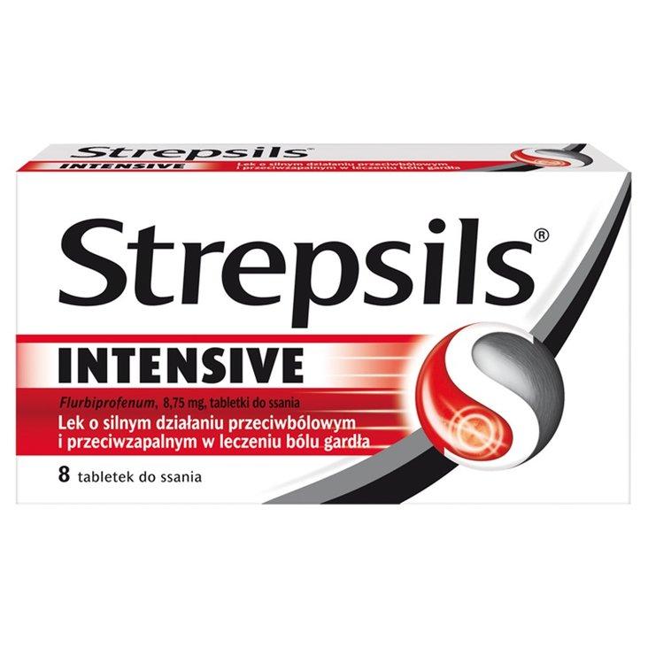 Strepsils Intensive Tabletki do ssania 8 sztuk (1)