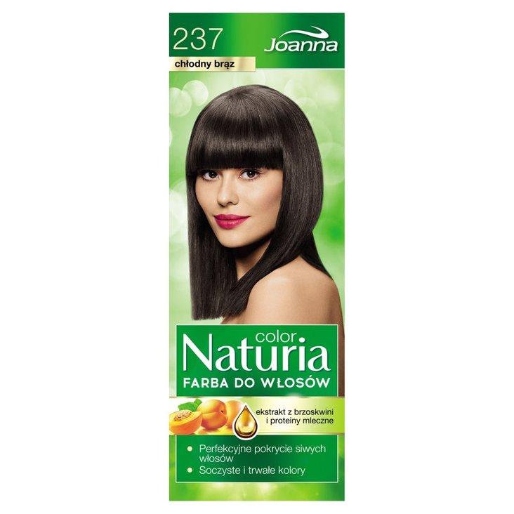 Joanna Naturia color Farba do włosów chłodny brąz 237 (2)