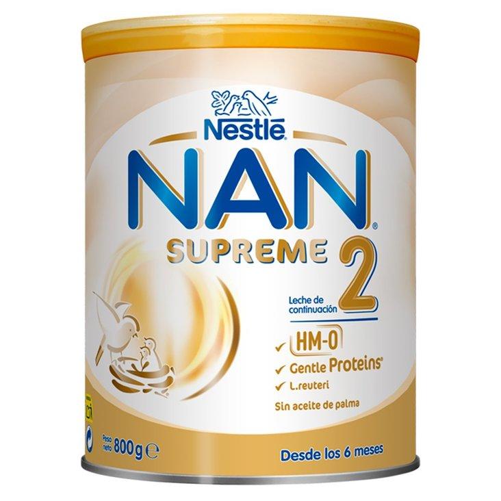 NAN SUPREME 2 HM-O Mleko następne dla niemowląt powyżej 6. miesiąca 800 g (1)