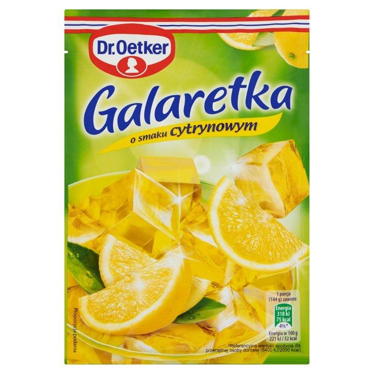 Dr. Oetker Galaretka o smaku cytrynowym 77 g (2)