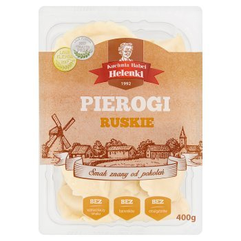 Kuchnia Babci Helenki Pierogi ruskie 400 g (1)