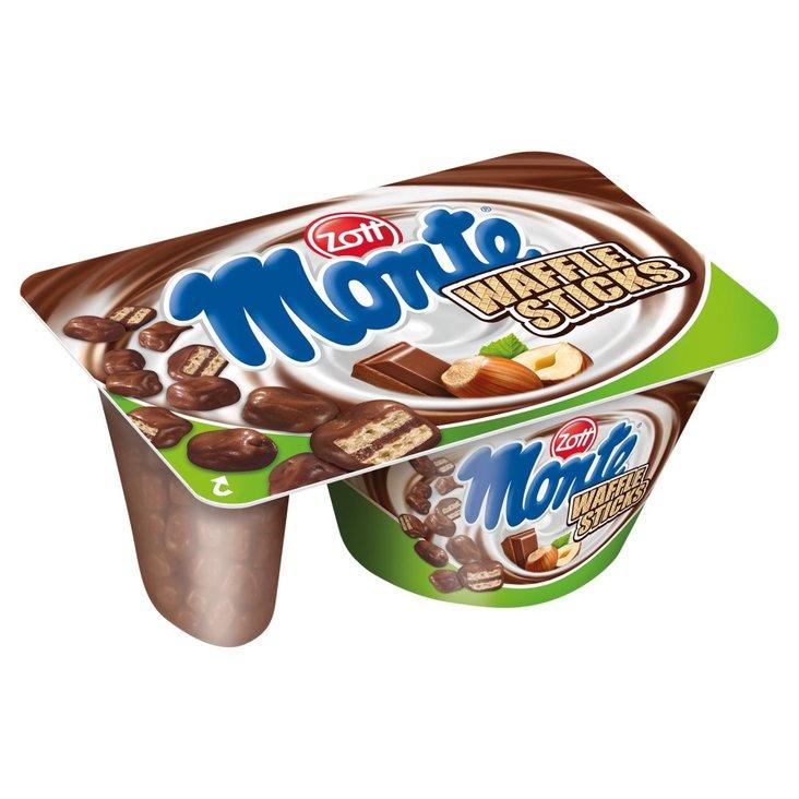 Zott Monte Deser Choco Flakes/Waffle Sticks 125 g (1)