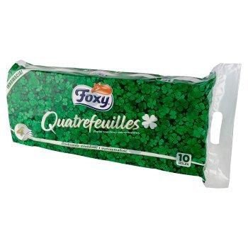 Foxy Quatrefeuilles Papier toaletowy cztery warstwy 10 sztuk (1)