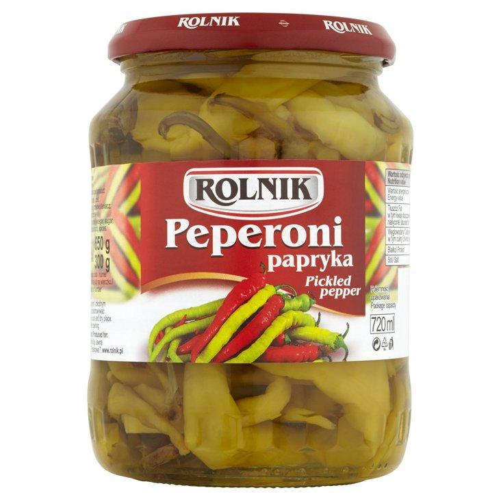 Rolnik Peperoni papryka 650 g (2)