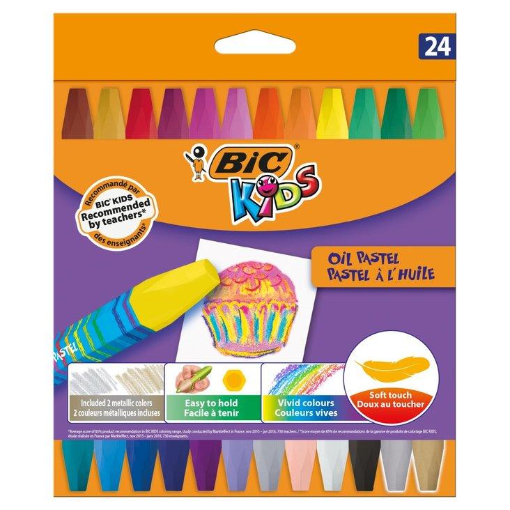 BiC Kids Pastele olejne 24 kolory (1)