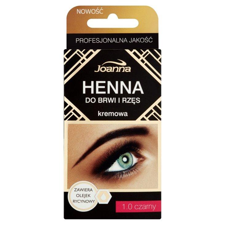Joanna Henna do brwi i rzęs kremowa 1.0 czarny (2)