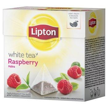 Lipton Malina Herbata biała 30 g (20 torebek) (1)