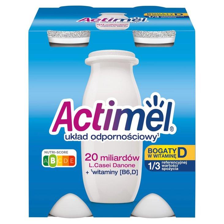 Actimel Mleko fermentowane o smaku klasycznym 400 g (4 x 100 g) (1)