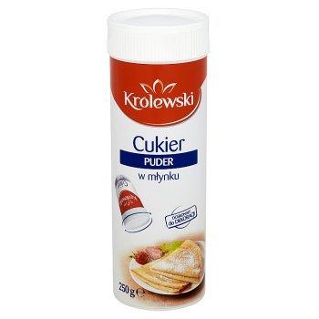Cukier Królewski Cukier puder w młynku 250 g (1)