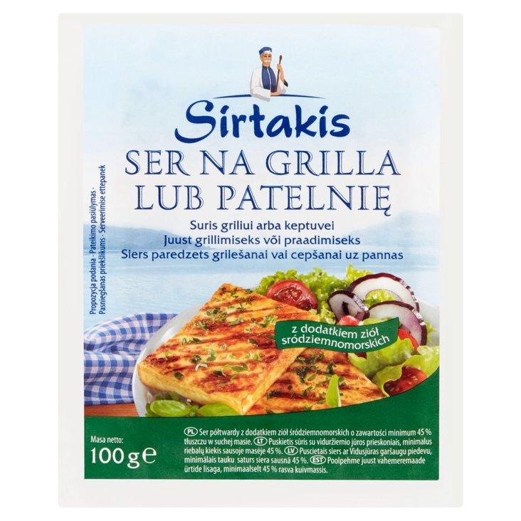 Sirtakis Ser na grilla lub patelnię z dodatkiem ziół śródziemnomorskich 100 g (1)