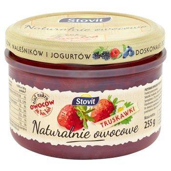 Stovit Naturalnie owocowe Truskawki 255 g (1)