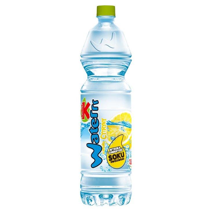 Kubuś Waterrr Napój o smaku cytryny 1,5 l (1)