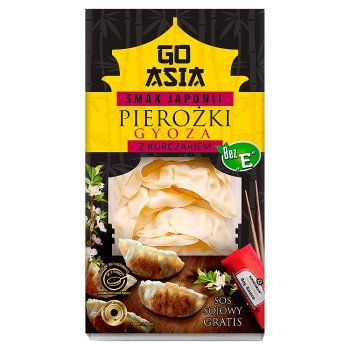 Go Asia Smak Japonii Pierożki gyoza z kurczakiem 230 g (1)