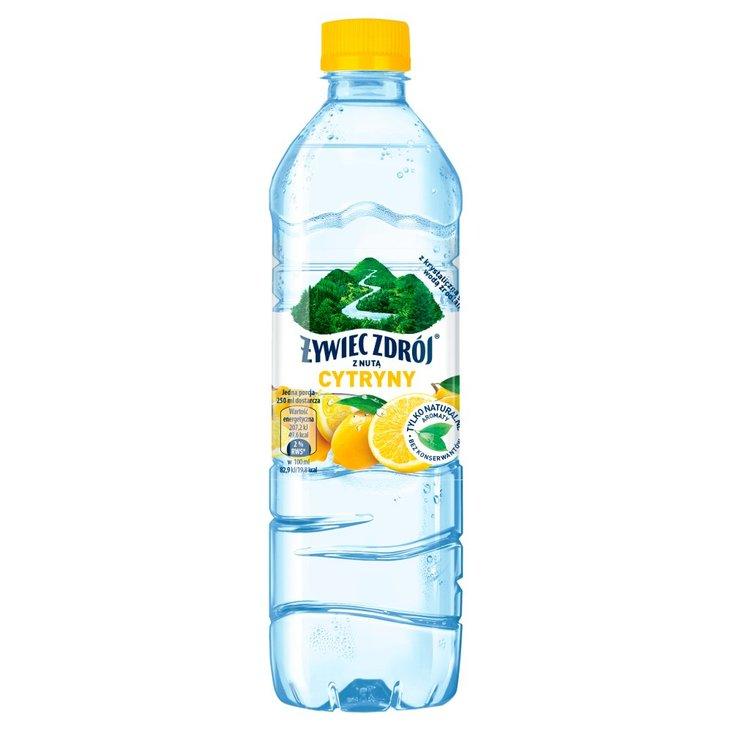 Żywiec Zdrój Napój niegazowany z nutą cytryny 500 ml (1)
