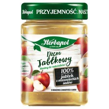 Herbapol Dżem jabłkowy o obniżonej zawartości cukru 280 g (1)