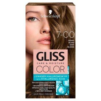 Schwarzkopf Gliss Color Farba do włosów ciemny blond 7-00 (1)