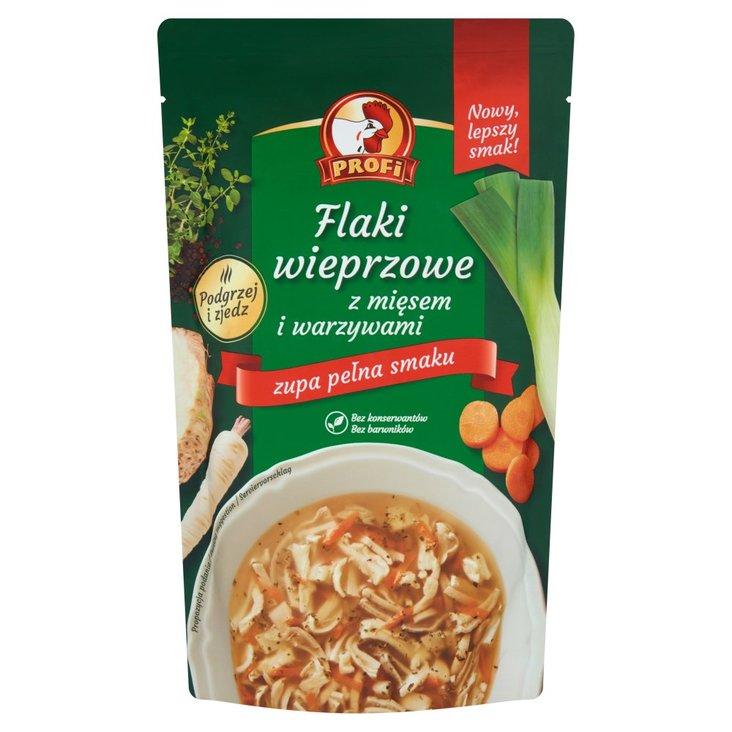 Profi Flaki wieprzowe z mięsem i warzywami 450 g (1)
