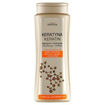 Joanna Keratyna Szampon odbudowujący 400 ml (1)
