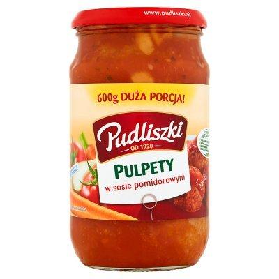 Pudliszki Pulpety w sosie pomidorowym 600 g (1)