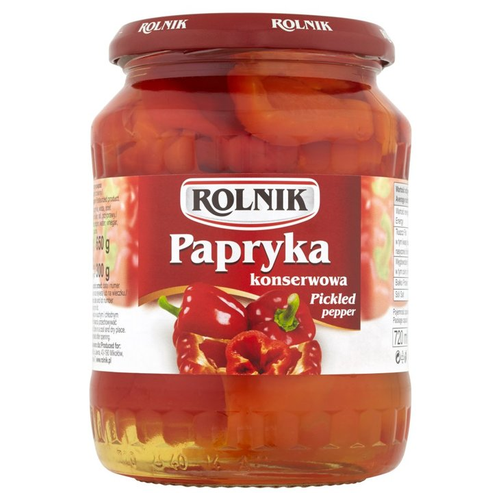 Rolnik Papryka konserwowa 650 g (2)