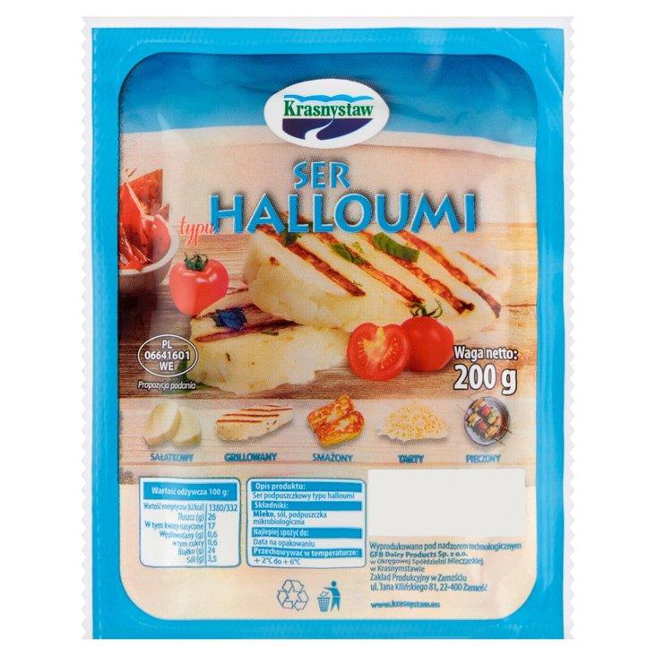 Krasnystaw Ser typu halloumi 200 g (1)