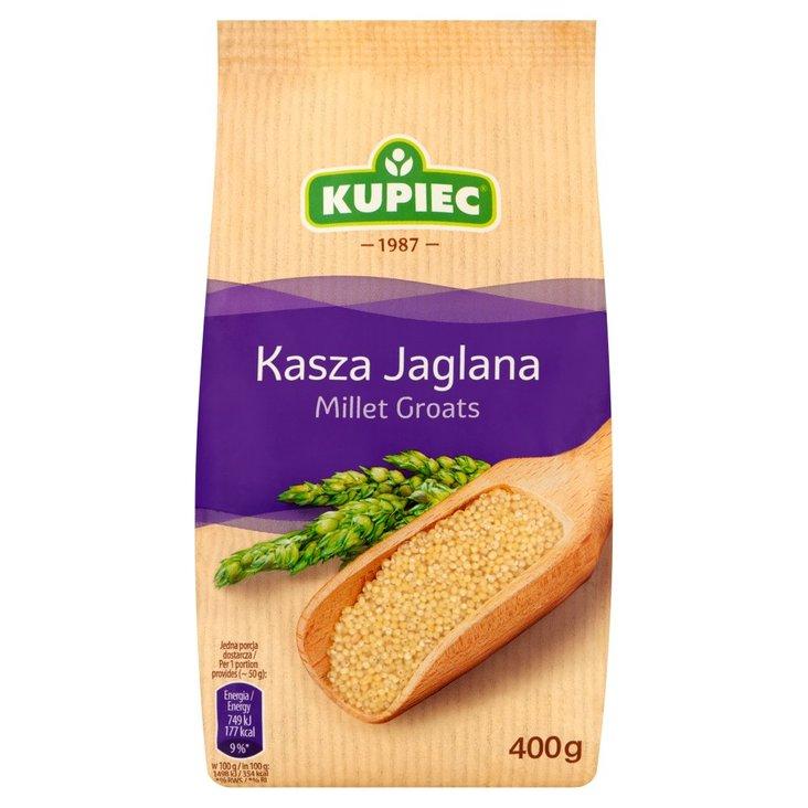 Kupiec Kasza jaglana 400 g (1)