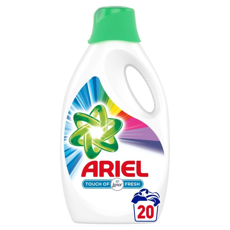 Ariel Touch of Lenor Color Płyn do prania, 1.1l, 20 prań (2)