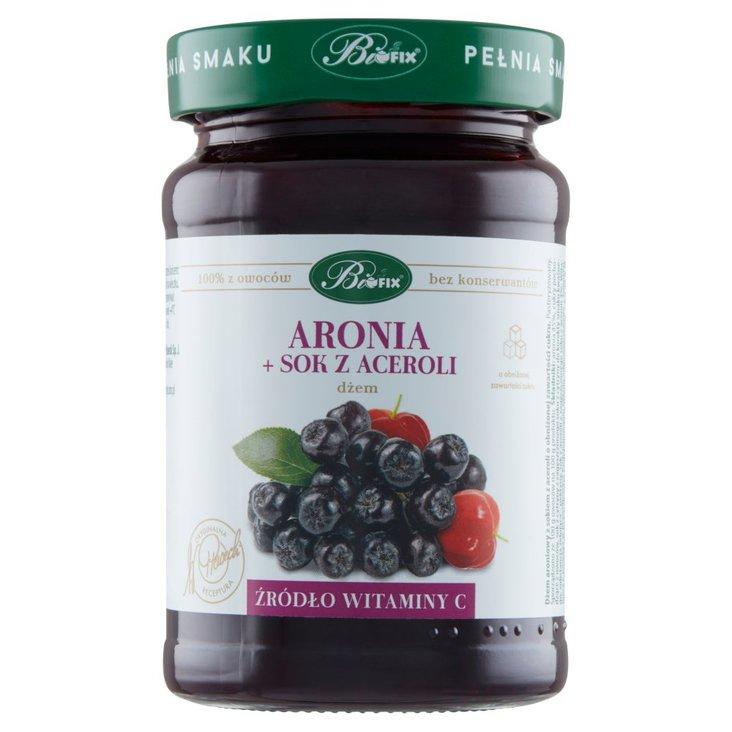 Bifix Dżem aronia + sok z aceroli 290 g (2)
