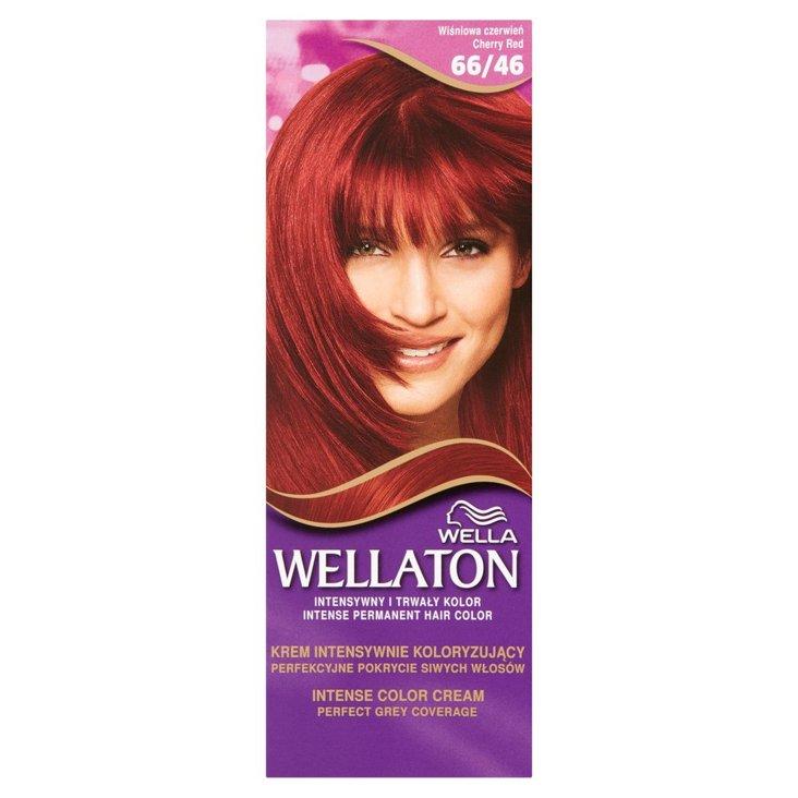 Wella Wellaton Krem intensywnie koloryzujący wiśniowa czerwień 66/46 (2)