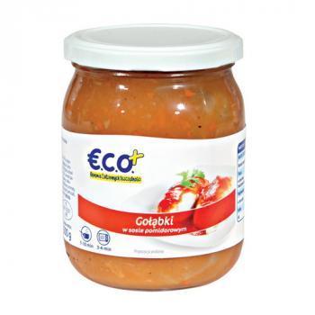 €.C.O.+  Gołąbki w sosie pomidorowym 500g (1)
