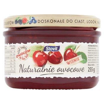 Stovit Naturalnie owocowe Wiśnie 255 g (2)