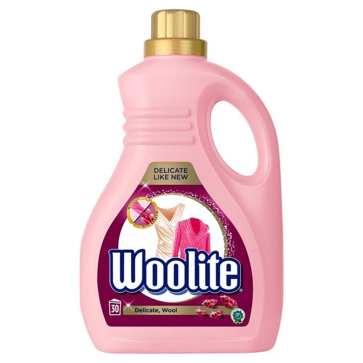 Woolite Płyn do prania delikatne tkaniny i wełna 1,8 l (30 prań) (1)