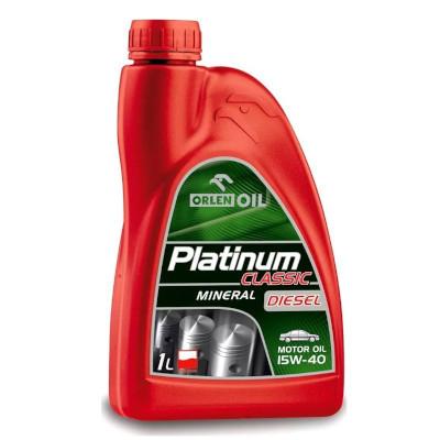 Olej silnikowy Orlen Platinum Classic Mineral Diesel 15W/40 1L (1)