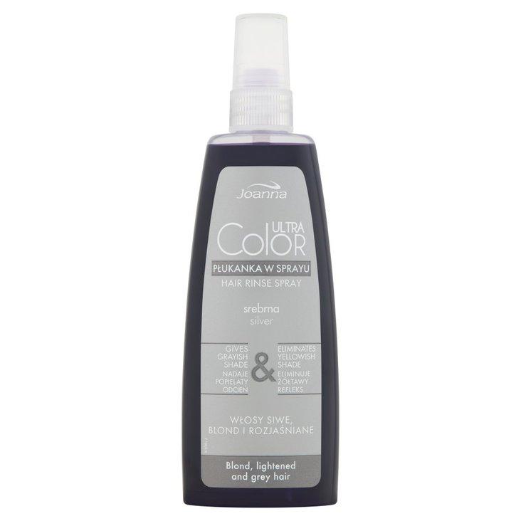 Joanna Ultra Color Płukanka w sprayu srebrna 150 ml (1)