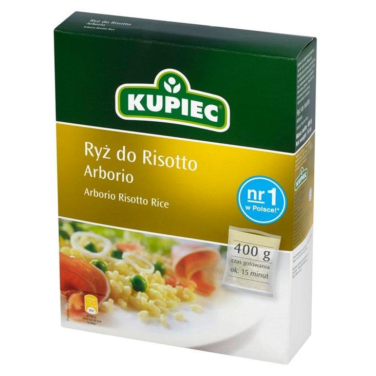 Kupiec Ryż do risotto arborio 400 g (1)
