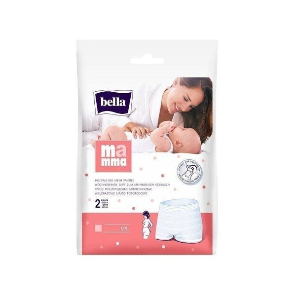 Bella Mamma Wielorazowe majtki poporodowe 2 szt. M/L (1)
