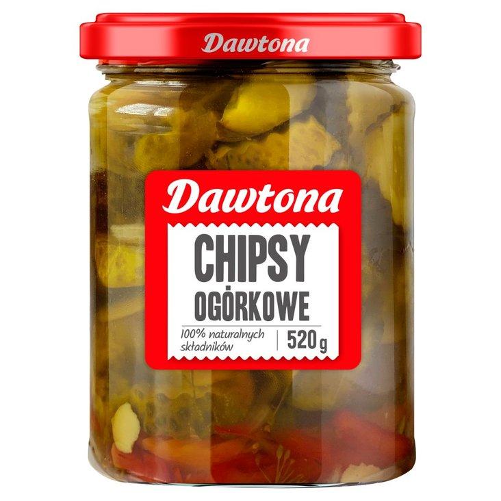Dawtona Chipsy ogórkowe 520 g (1)