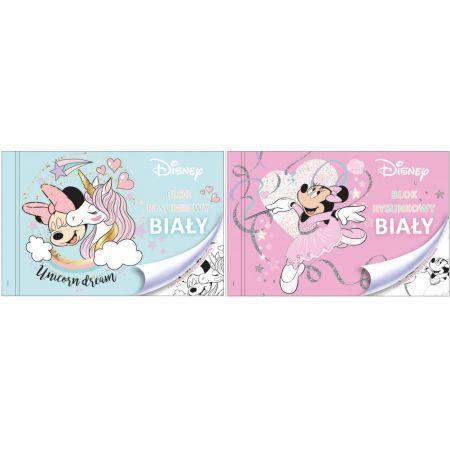 Beniamin Blok rysunkowy A4 Minnie Mouse biały (1)