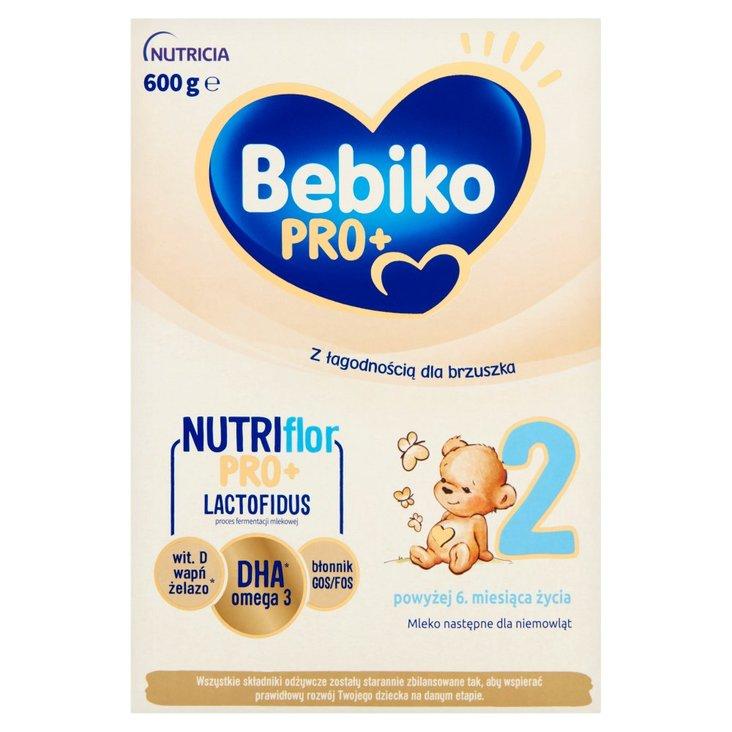 Bebiko Pro+ 2 Mleko następne dla niemowląt powyżej 6. miesiąca życia 600 g (2)