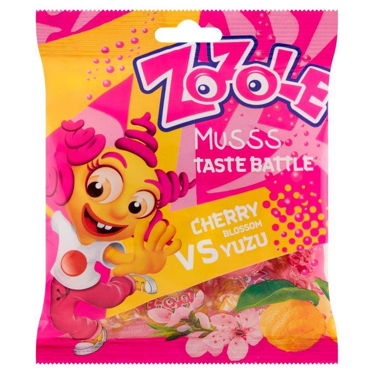 Zozole Musss Cukierki musujące o smaku yuzu i kwiatu wiśni 75 g (1)