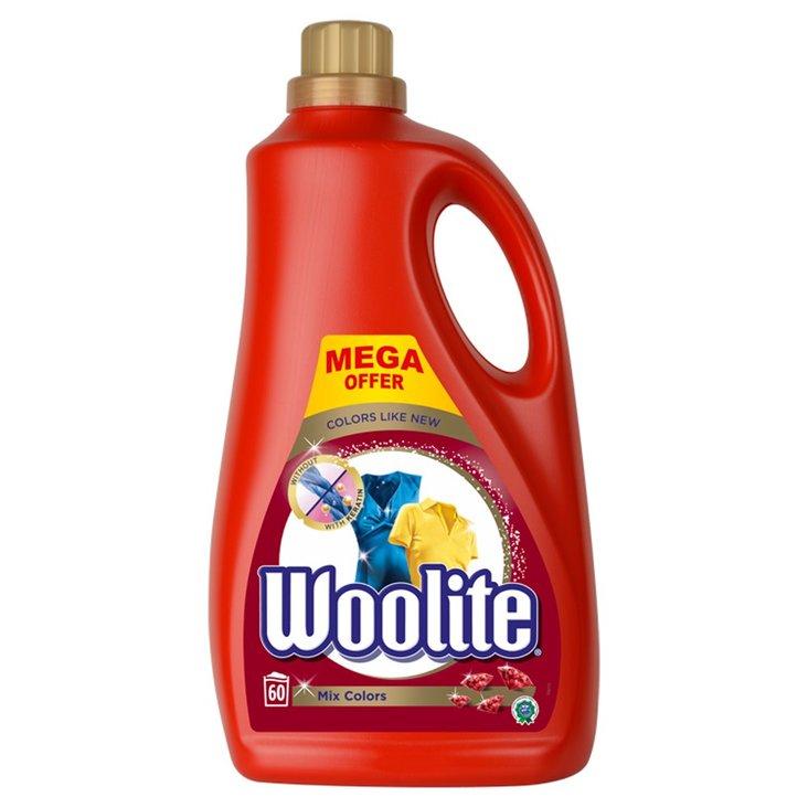 Woolite Płyn do prania tkanin do kolorów z keratyną 3,6 l (60 prań) (1)