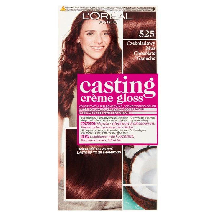 L'Oreal Paris Casting Crème Gloss Odżywcza farba do włosów 525 czekoladowy mus (2)