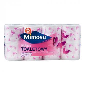 WM Papier toaletowy 100% celulozy, 160 listków 8szt (1)