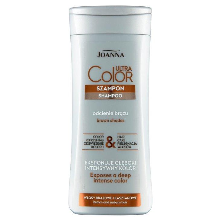 Joanna Ultra Color Szampon włosy brązowe i kasztanowe 200 ml (1)